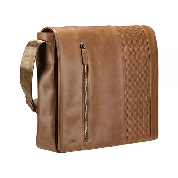 Vetti Ravel Shoulder Bag (Brown)