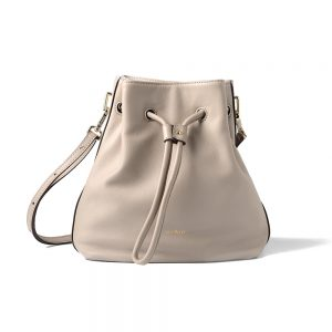 Melkco Fashion Chic Mode Series Multi Bucket Bag in Genuine Leather(Beige)