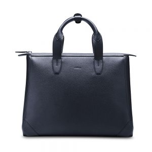 Melkco Bruni Bag In Genuine leather (Sapphire blue)