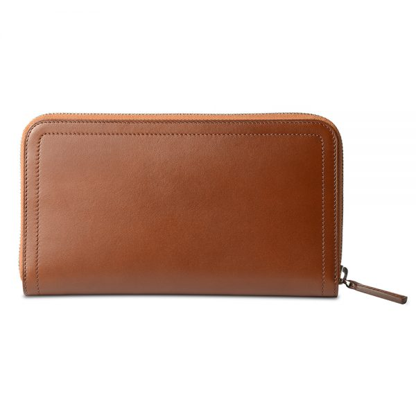 Melkco Bruni Wallet In Genuine Leather (Barenia)