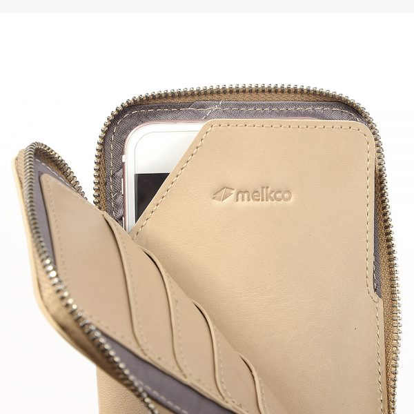 Melkco Easy Pouch Large (Natural -Shelly Belly)