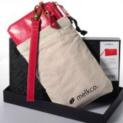 Melkco Fashion Leather Purse Sarina Series Style – Oilver Pink