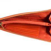 Melkco Fashion Leather Purse Sarina Series Style – Oliver Orange