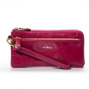 Melkco Fashion Leather Purse Sarina Series Style – Oliver Purple
